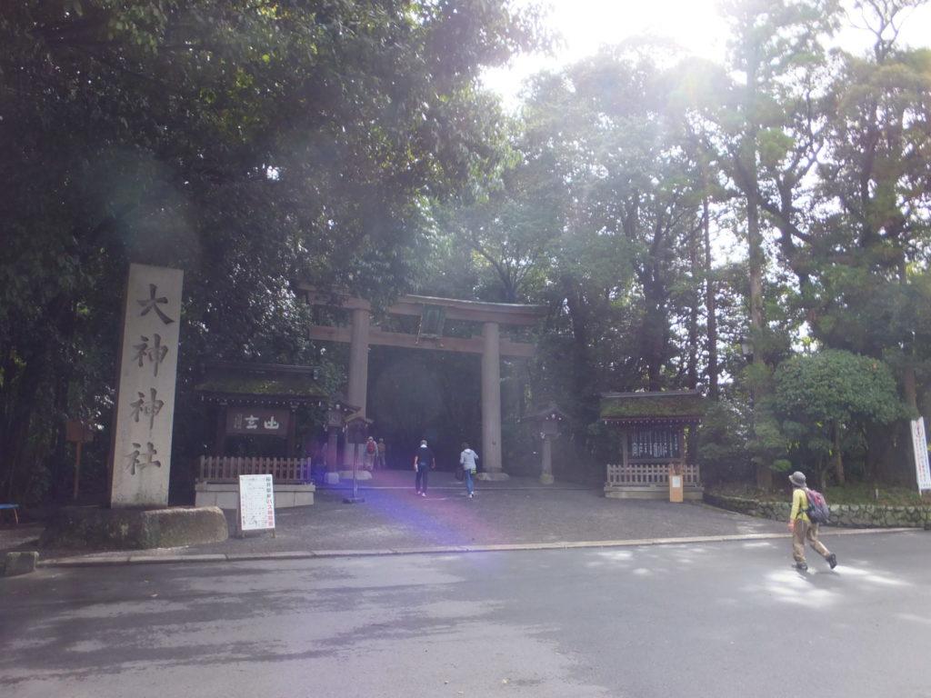 大神神社二の鳥居 写真
