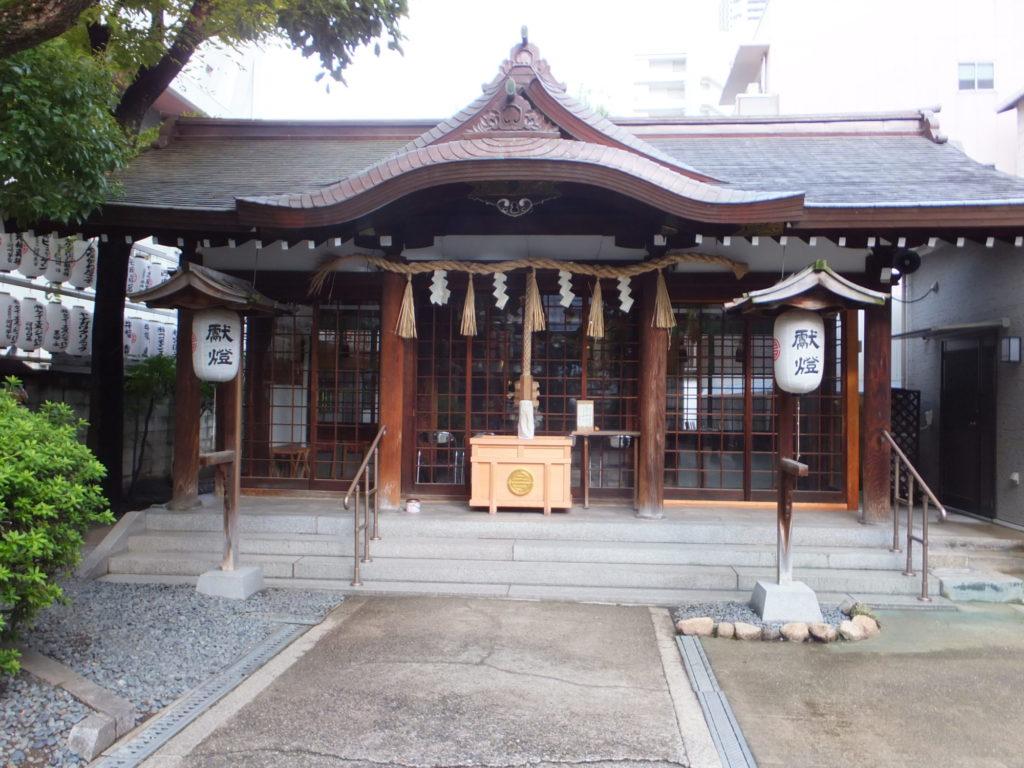 サムハラ神社拝殿 写真