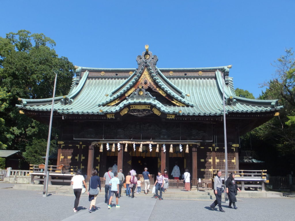 三嶋大社拝殿 写真